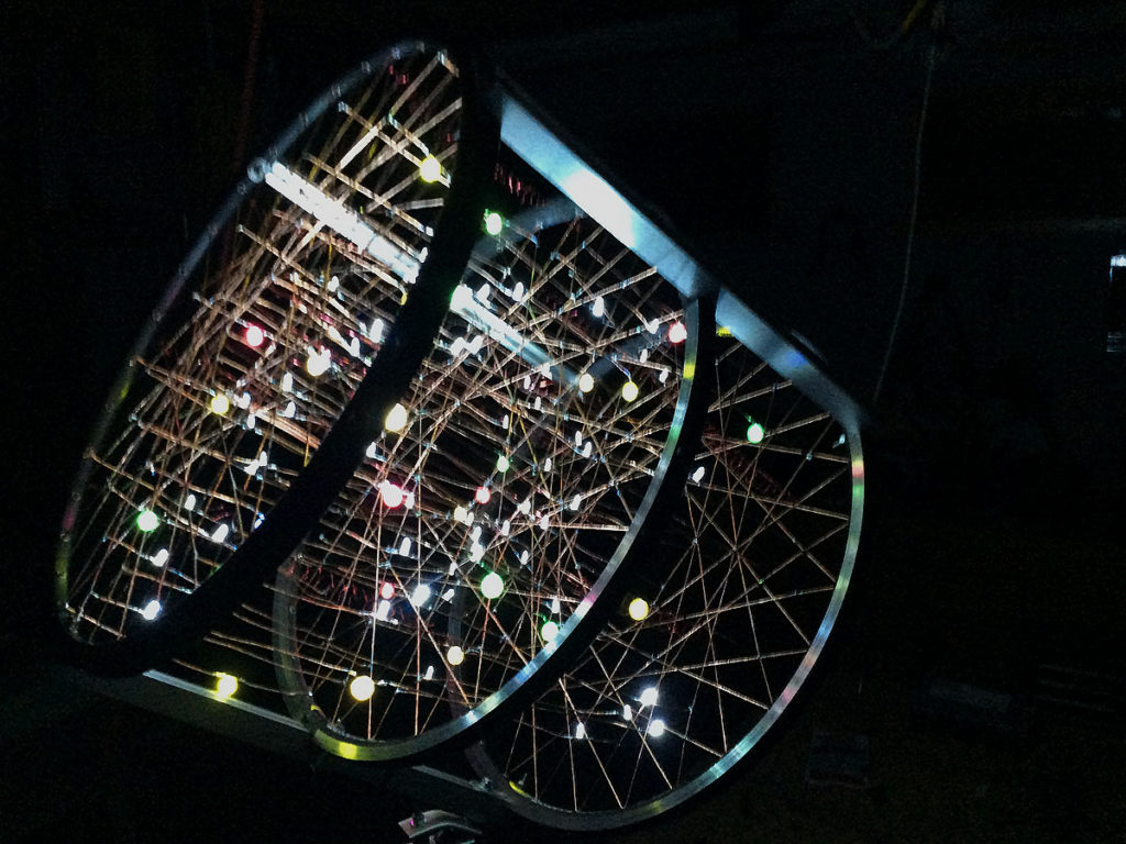 WGS Art: Bill Simons Light Sculpture